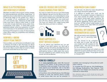 Peak Time Rebate Program Brochure2